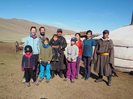 Les mongoles aiment les photos