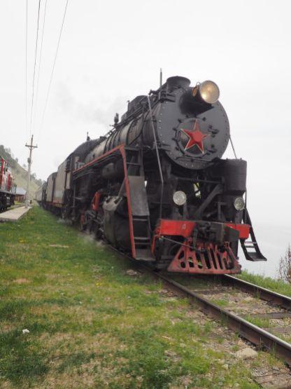 Le fameux train Circum Baïkal