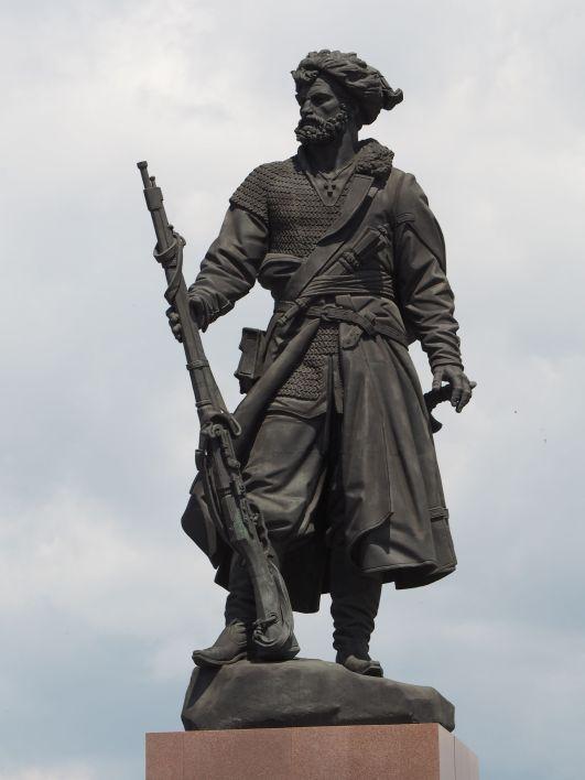 A la gloire des cosaques pionniers de la Sibérie