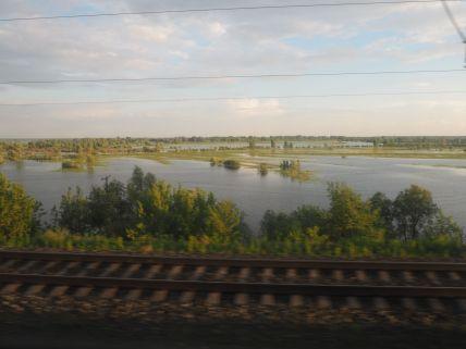La Russie est un pays remplie d'eau