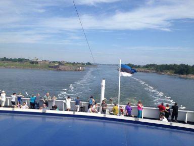 Départ d'Helsinky pour Tallinn (Estonie)