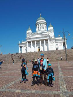 A Helsinki, blanc sur bleu