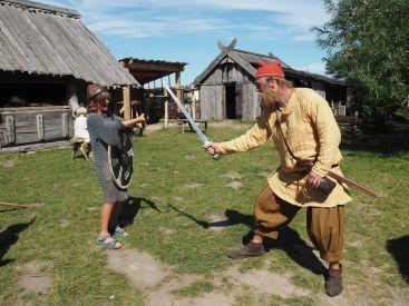 Allez Inès, ce viking n'a pas l'air si terrible!