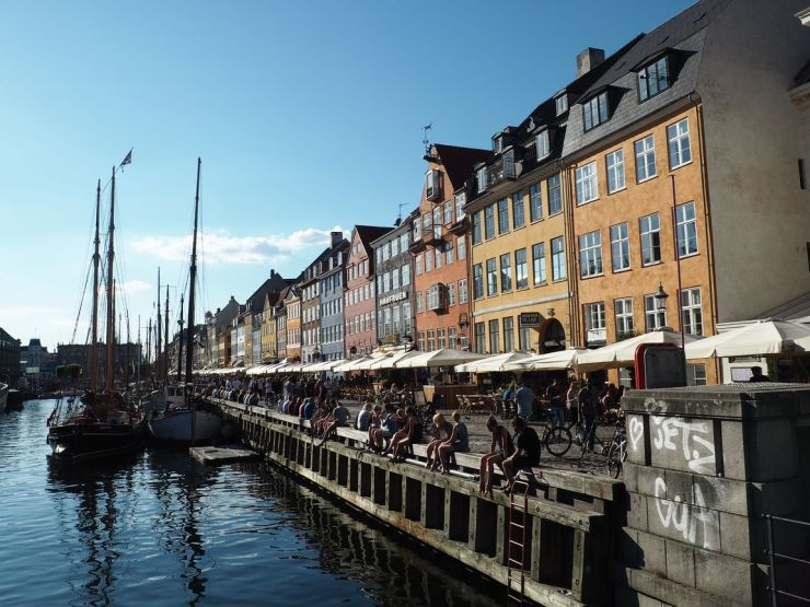 Trilogie du fameux quartier du canal Nyhavn (1)