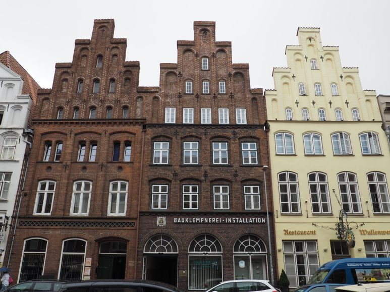 La vieille ville en briques
