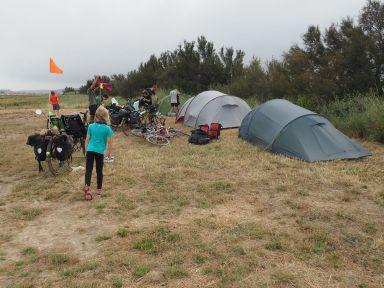 Tentes rapidement installés