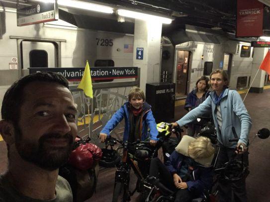 Arrivée à Penn station
