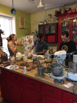 Atelier pancakes et discussions intéressantes
