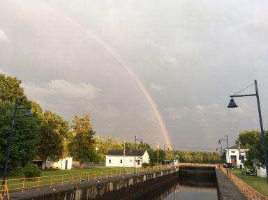 et après la pluie parfois c'est magique !
