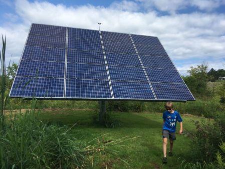 Si en plus, ils ont des panneaux solaires... Alors là !