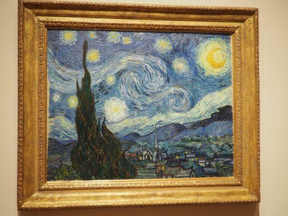 La nuit étoilée - Van Gogh - juin 1889