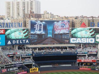Les Yankees reçoivent les Tigers de Detroit