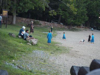 D'ailleurs un peu plus loin, des Amishs sont restés à cette époque.