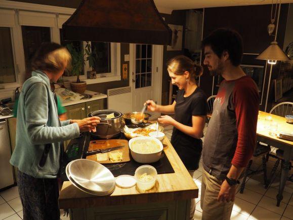 Discussions autour de la cuisine