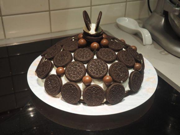 Avec une superbe création de notre chef pâtissier Joseph !