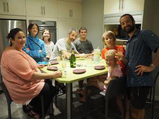 Benoîte, David et tous les cousins nous ont offert de bien bons moments