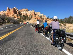 Arrivée vers Bryce Canyon