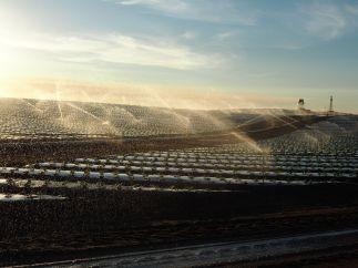 Pluie artificielle pour fraises industrielles !