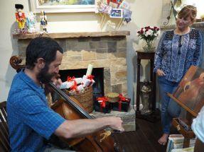 Antoine au violoncelle (vous ne saviez pas?!)