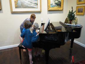 Soirée musique et jeux : Albane et Joseph au piano