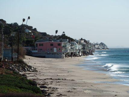 Les villas sur la plage de Malibu