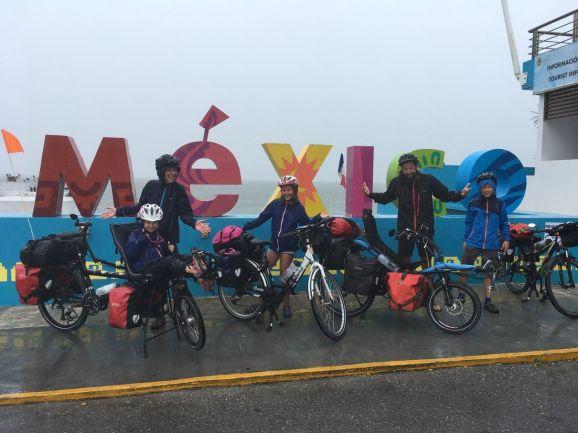Nous quittons le Mexique sous la pluie !