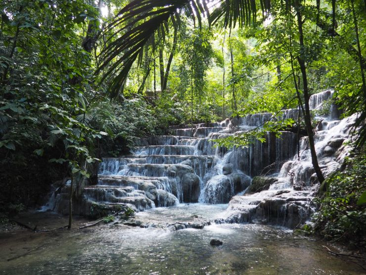 De très belles chutes d'eau pour finir la visite