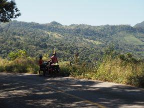 La route traverse des paysages qui méritent de s'arrêter