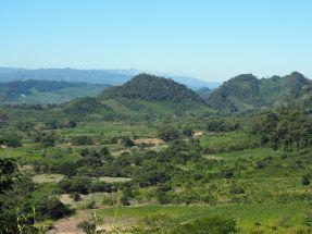 Les montagnes du Chiapas sont magnifiques