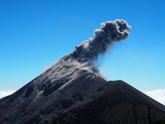 une belle explosion du Fuego