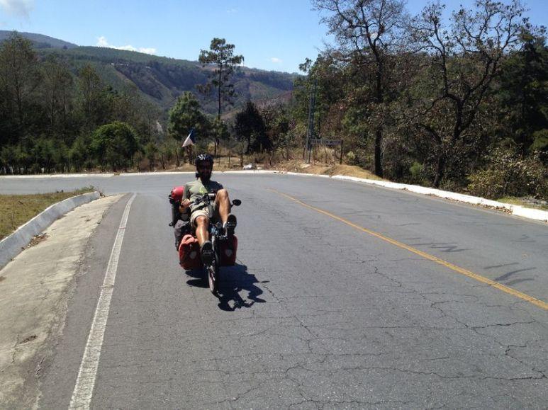 En route vers le lac Atitlan