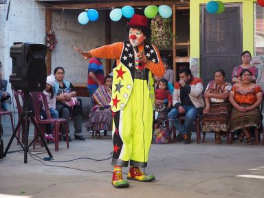Le clown...