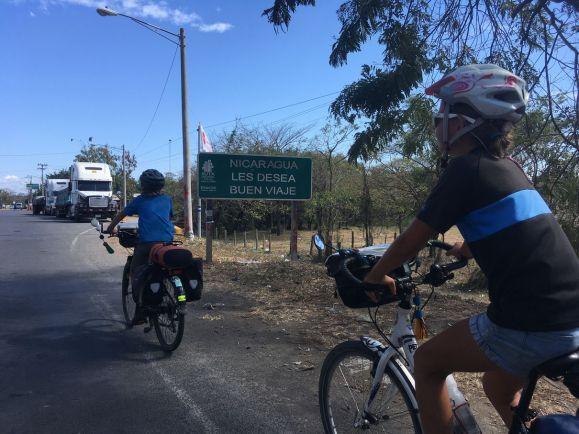 Bye bye Nicaragua !
