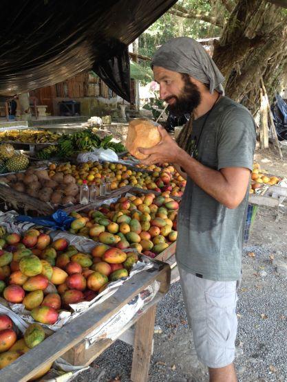 Des cocos et des mangues, le bonheur !