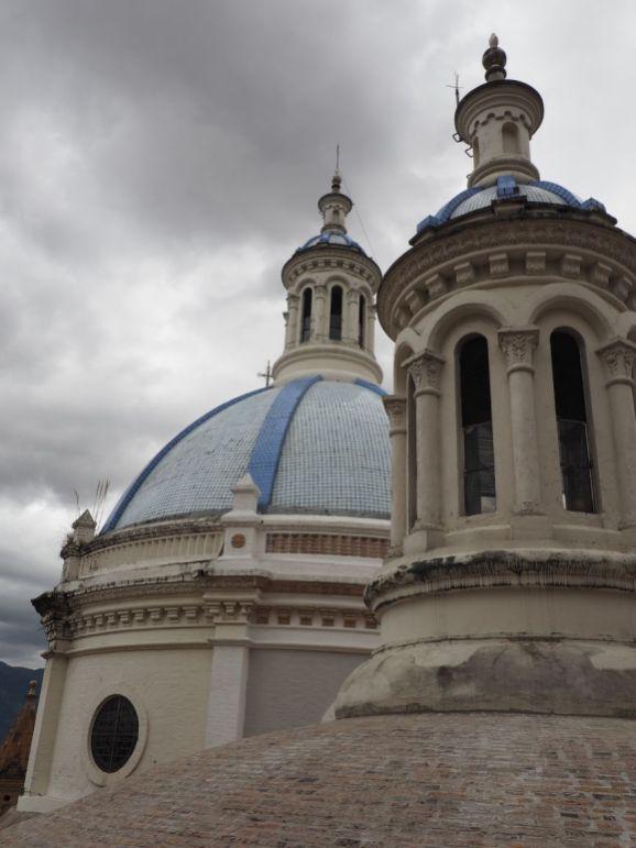 Sur les toits de la cathédrale de Cuenca