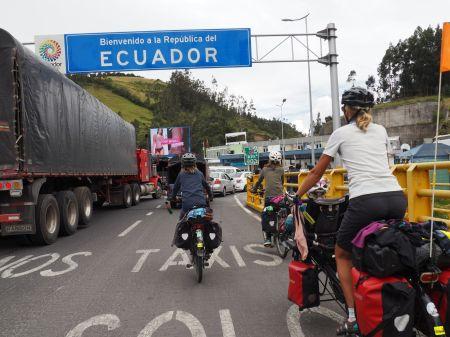Bienvenido en Ecuador