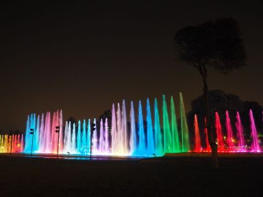 Les animations sons, lumières et eaux sont superbes