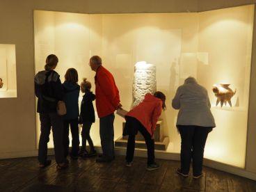Très studieux au musée Larco sur les civilisations pré-Incas et Incas