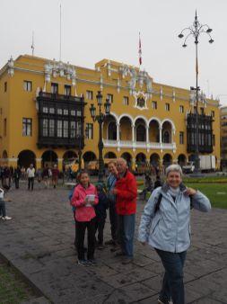 Visite de la vieille ville en famille