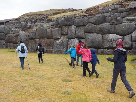 Enfin une visite avec un temps sec : le site de Sacsayhuaman