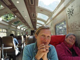 Le train coûte une blinde mais permet de voir des paysages splendides !