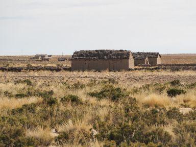 L'un des nombreux hameaux déserts