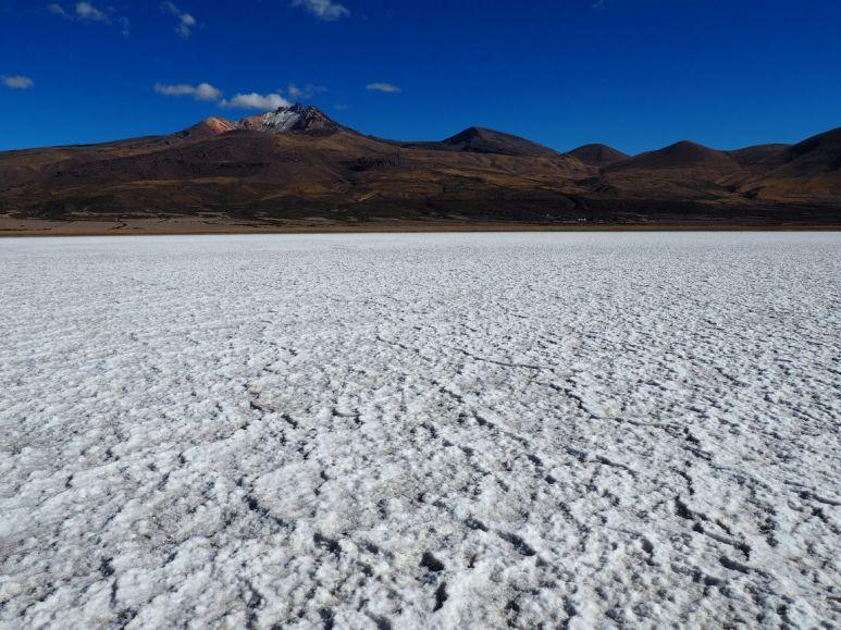 Au fond le volcan Tunupa