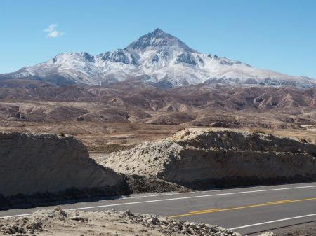 El cerro Chorolque à plus de 5000 m d'altitude