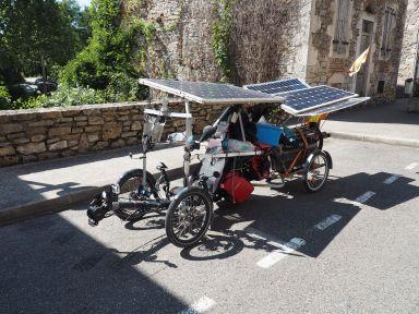Super, un vélo solaire !