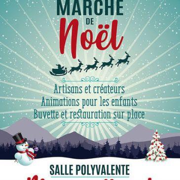 Marché de Noël- Montgailhard- 1 et 2 décembre 2018 – Salle polyvalente.