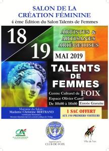 Salon Talents de femmes 2019 Foix