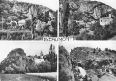Beaumont-en-Diois vues multiples