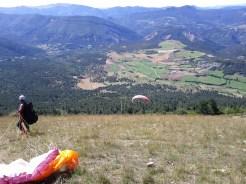 Envol de parapente Le Puy