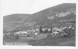 Lesches-en-Diois Col Maur années 1950